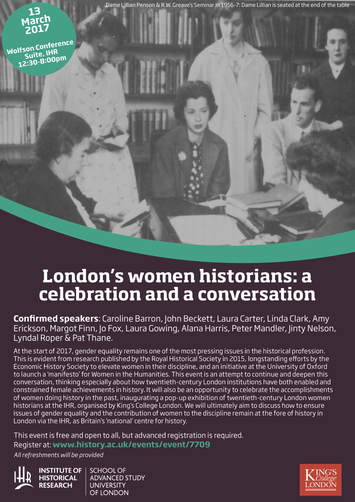 London's women historians 13 March 2017